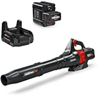 Snapper HD 48V MAX Electric Cordless 450 CFM Leaf Blower Kit w/ 2.0 Battery & Charger