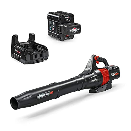 Snapper HD 48V MAX Electric Cordless 450 CFM Leaf Blower Kit