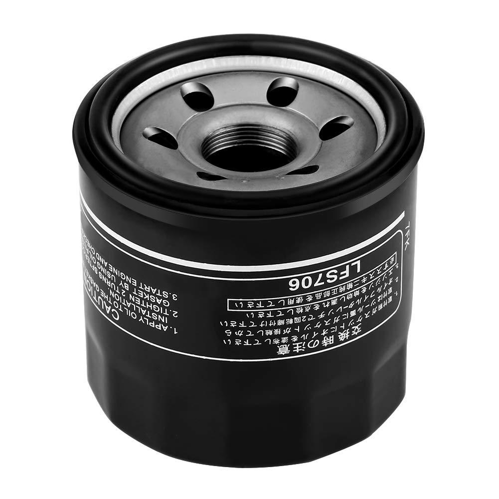 Filtre /à huile,Fydun filtre /à huile moto pour GSXR1000//600//750 GSX-R GSX1300R noir