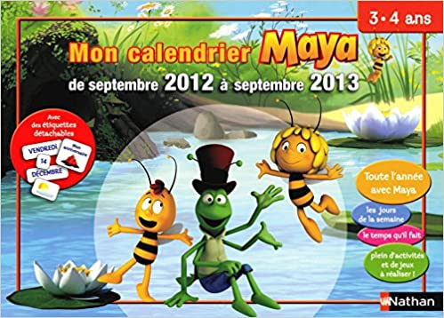 Calendrier Ps.Amazon Fr Mon Calendrier Maya 3 4 Ans Ps Mireille Fronty