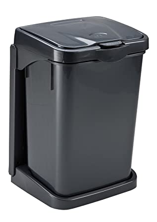 Doory Müllbeutelhalter, Anthrazit, Einbauabfallsammler, Hallter Für  Müllbeutel Mit Oder Ohne Mülleimer, Küchen