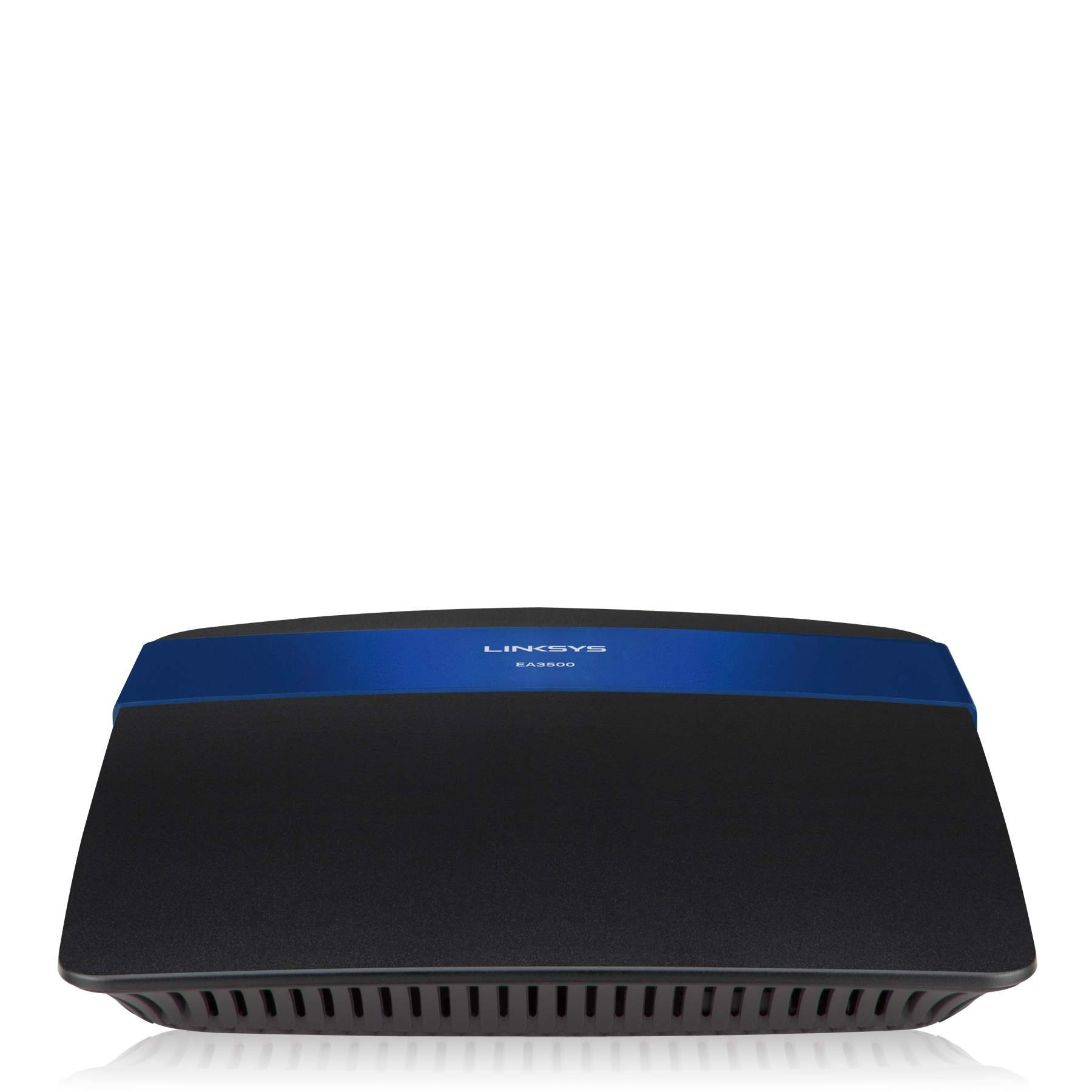 Linksys N750 Wi-Fi Wireless Dual-Band+ Router with Gigabit & USB Ports, Smart Wi-Fi App Enabled to Control Your Network from Anywhere (EA3500) by Linksys