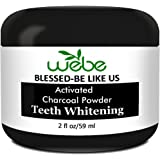 WeBe Blessed Activated Charcoal Tooth Whitening Powder