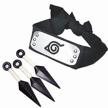 Amazon.com: IDOXE Naruto - Diadema de plástico con diseño de ...