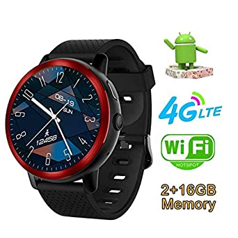 4G Smart Watch Phone - Android 7 1 1 2GB + 16GB 2MP Bluetooth GPS ...