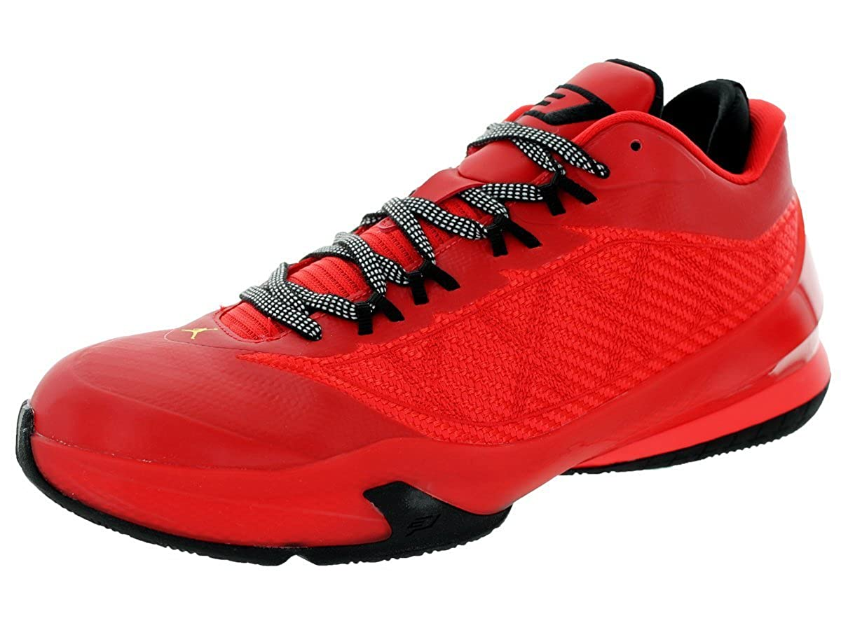 official photos 368b0 b6395 Nike Mens Jordan CP3.VII Challenge Red/Tour Yellow-Black Synthetic  Basketball Shoes Size 8