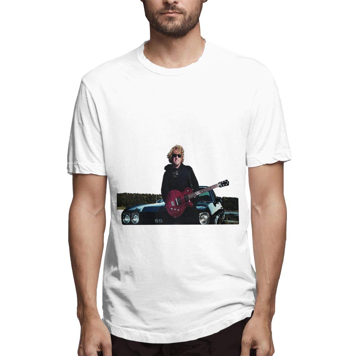 Lihehen Mans Sammy Hagar Simple Casual Round Neck Ts Shirts