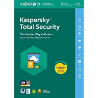 Kaspersky Total Security 2019 | 3 Devices | 2 Years | PC/Mac/Android | Online Code