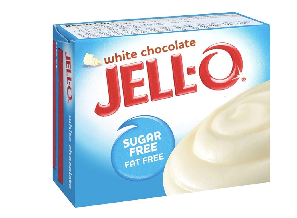 Jell-o Sugar-free Instant Pudding & Pie Filling, White Chocolate,1 Ounce (Pack of 4)