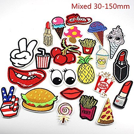 24pcs-random-assorted-iron-on-or-sew-on-embroidered-patch-motif-applique