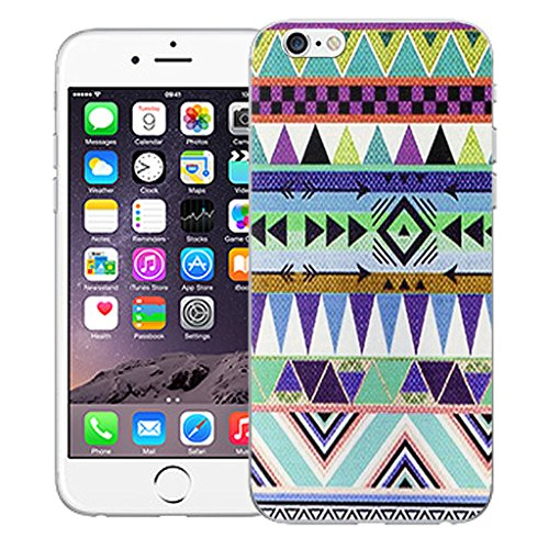 "Mobile Case Mate iPhone 6S 4.7"" Silicone Coque couverture case cover Pare-chocs + STYLET - Native pattern (SILICON)"