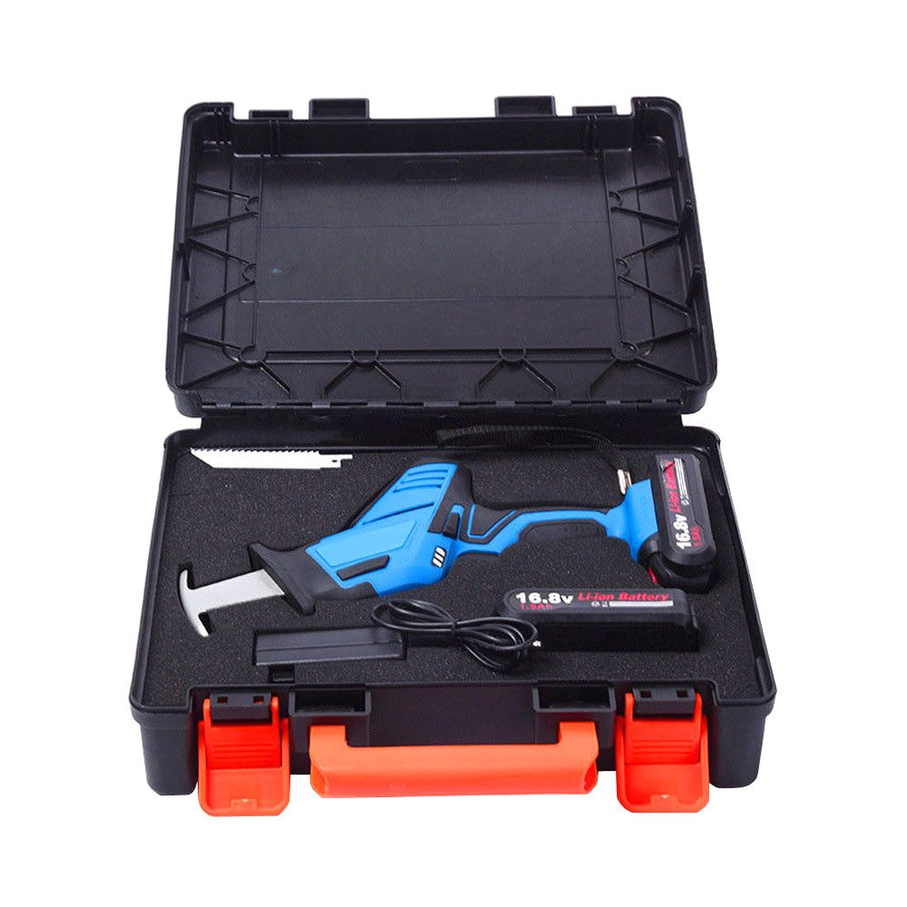 12V Rechargeable Wood Saw Reciprocating Saws for Home or DIY Use 3000RPM 2000mA