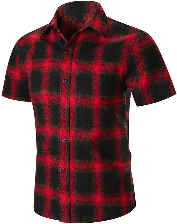 Camisa Hawaiana Hombre Shirt Manga Corta Bolsillo Delantero ...