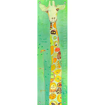 Oopsy Daisy Grow Giraffe Growth Chart by Jennifer Mercede, 12 by 42-Inch: Baby