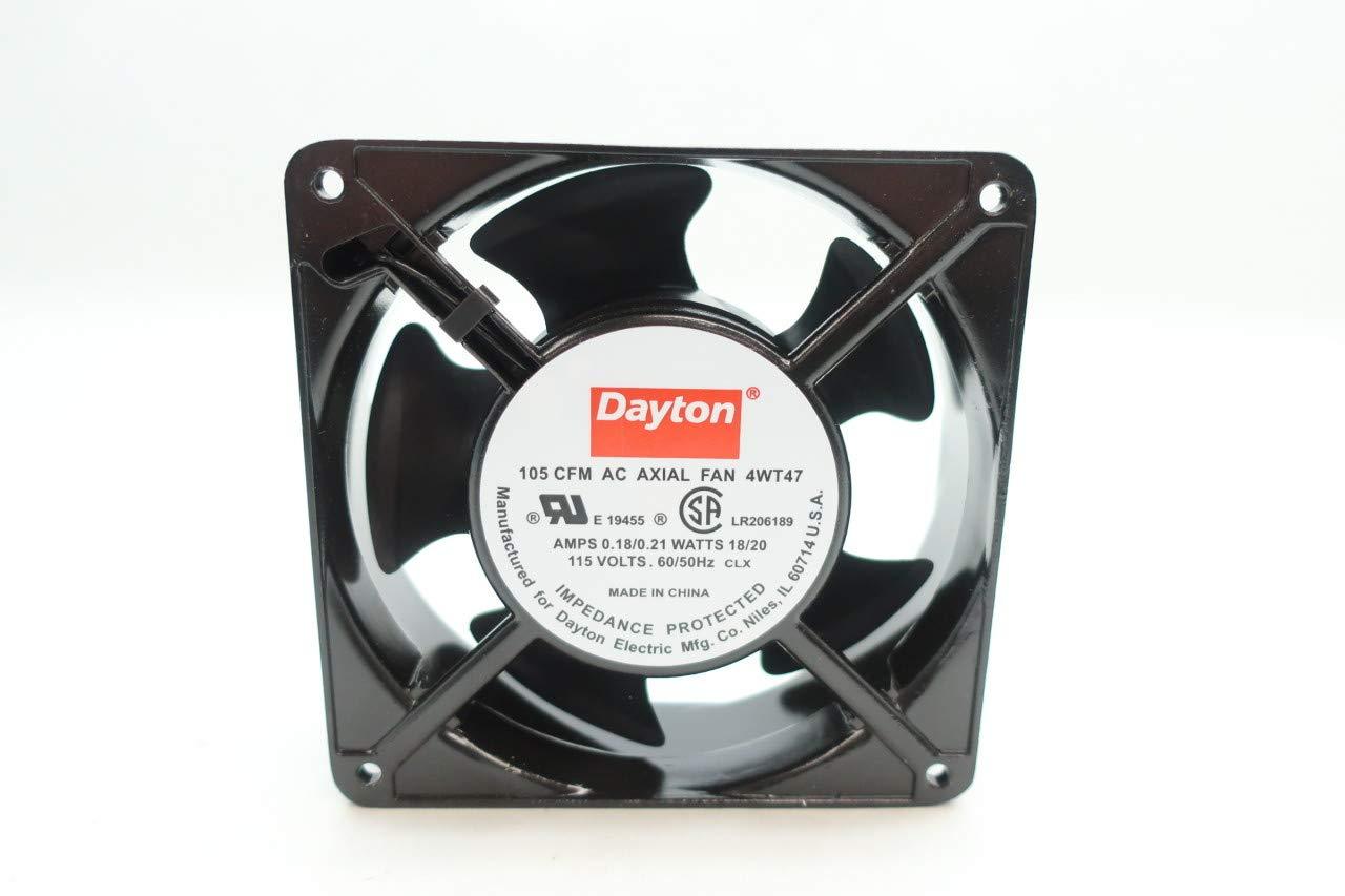 DAYTON 4WT47 AC AXIAL Fan 105CFM 115V-AC by Dayton (Image #1)