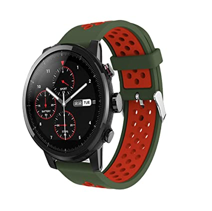 Tabcover compatibile for AMAZFIT 2S Correa,22mm Soft Silicone ...
