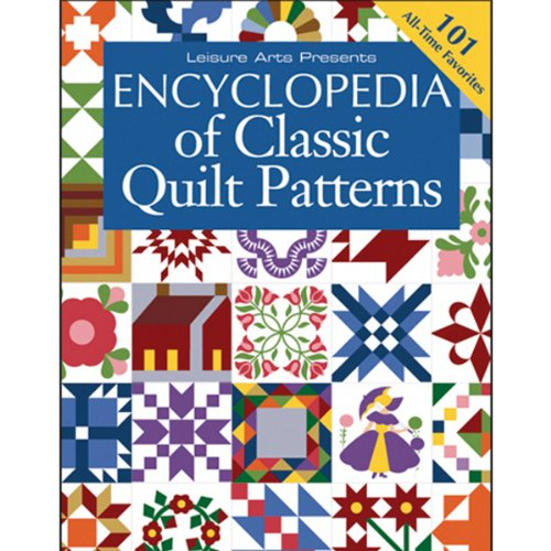 Art Quilt Pattern - LEISURE ARTS Encyclopedia Of Classic Quilt Patterns