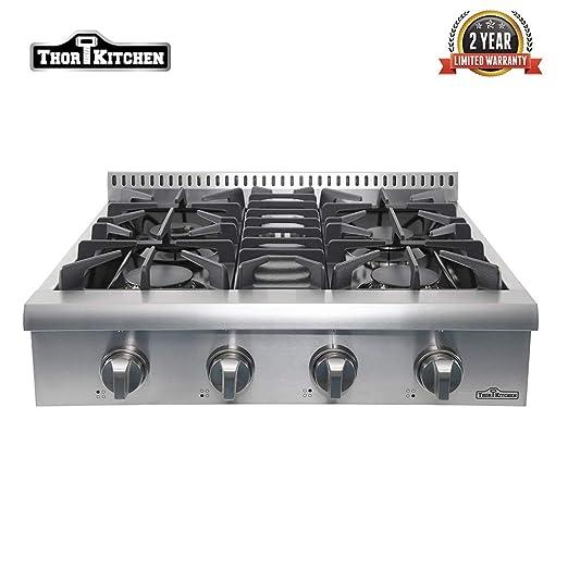 Amazon.com: Thor Kitchen HRT3003U - Gafas de gas con 4 ...