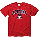 Arizona Wildcats Adult Arch & Logo Gameday T-Shirt - Red ,