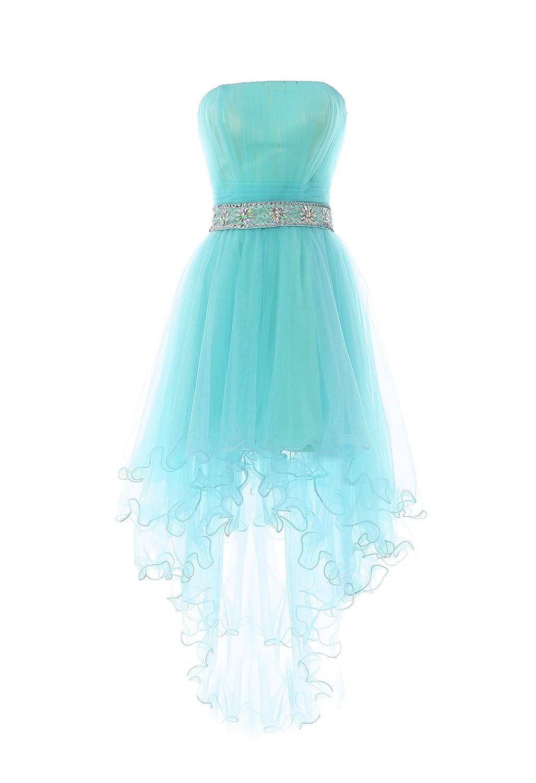 YiYaDawn Kurzes Abendkleid Ballkleid aus Tüll für Damen: Amazon.de ...