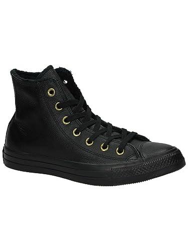 top mode beste keuze kortingen aanbieden Converse Womens Chuck Taylor All Star Winter Knit Fur Hi Leather Trainers