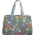 Vera Bradley Luggage Womens Triple Compartment Travel Bag