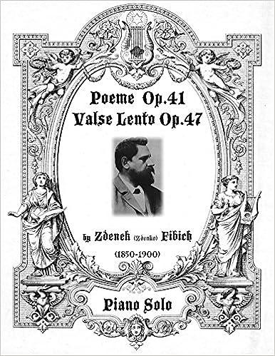 Amazoncom Poeme Op41 And Valse Lento Op47 Piano Solo