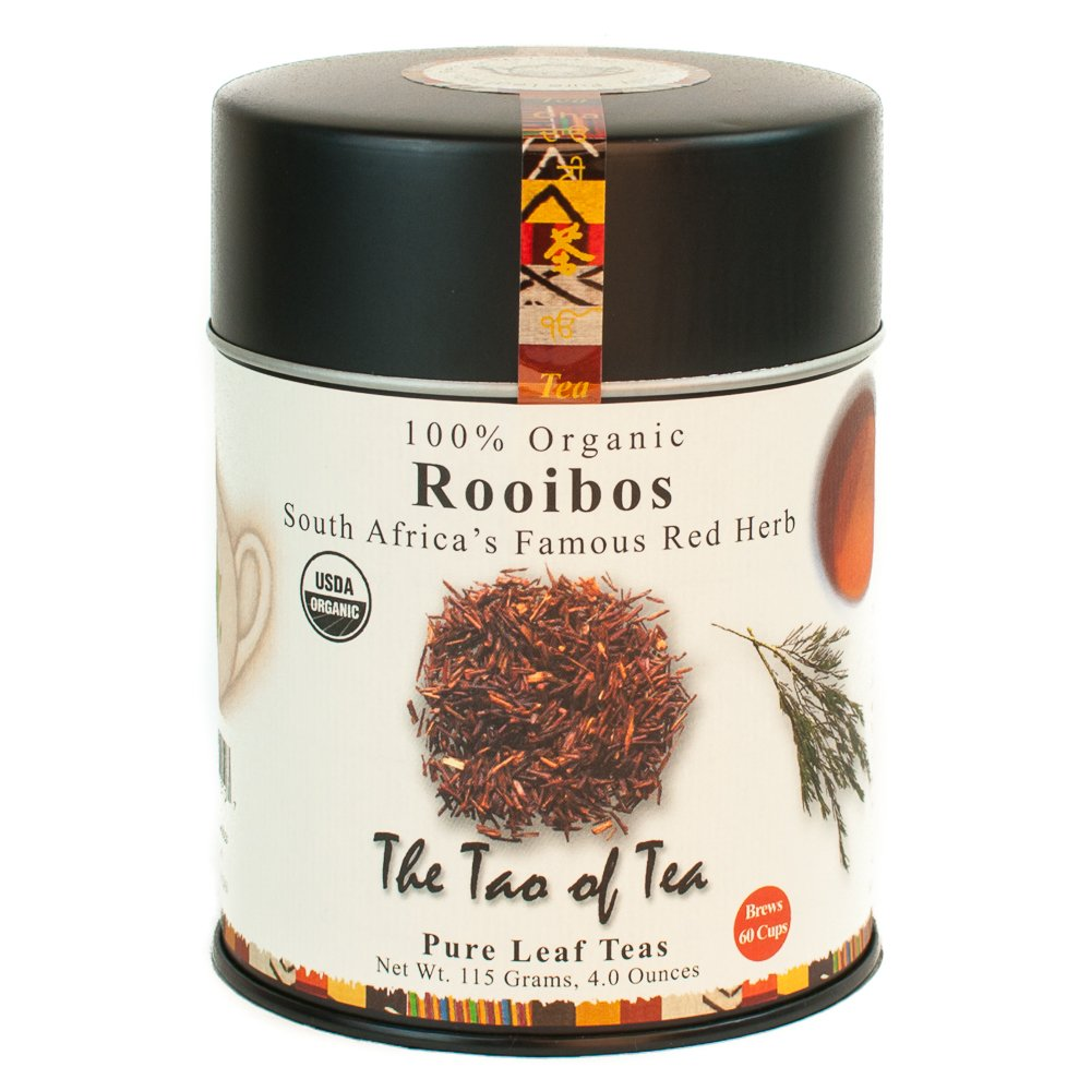 The Tao of Tea, Rooibos Tea, Loose Leaf, 4 Ounce Tin TRTAZ11A