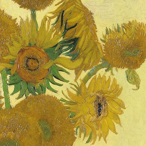 4 Paper Napkins for Decoupage - 3-ply, 33 x 33cm - Sunflowers, Van Gogh, National Gallery Tigers on the Loose