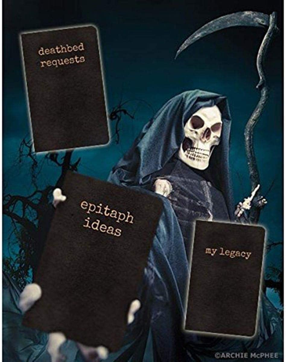 3 Pack Archie McPhee Final Notes Epitaph Ideas