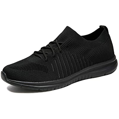 QIUYIXI Men's Slip On Walking Shoes Lightweight Causual Running Sneakers | Walking