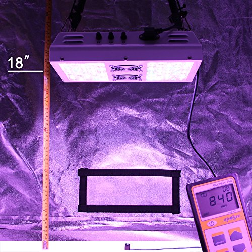 61EUO BspSL - VIPARSPECTRA Dimmable Series PAR450 450W LED Grow Light - 3 Dimmers 12-Band Full Spectrum for Indoor Plants Veg/Bloom