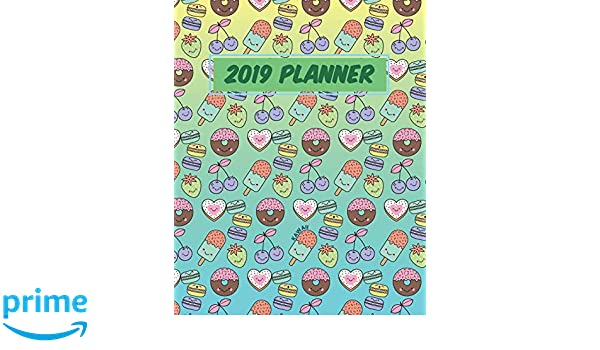 Kawaii 2019 Planner: January to December Agenda Monthly ...