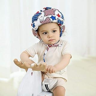 WESEASON Protezione Testa Bambino Casco di Sicurezza Bimbo Regolabile Casco di Sicurezza Usato per Camminare Indoor Bambini Strisciante Testa di Protezione Cuscino