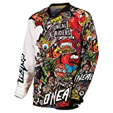 O'Neal 0023-105 Mayhem Crank Men's Jersey (Black/Multi, X-Large)