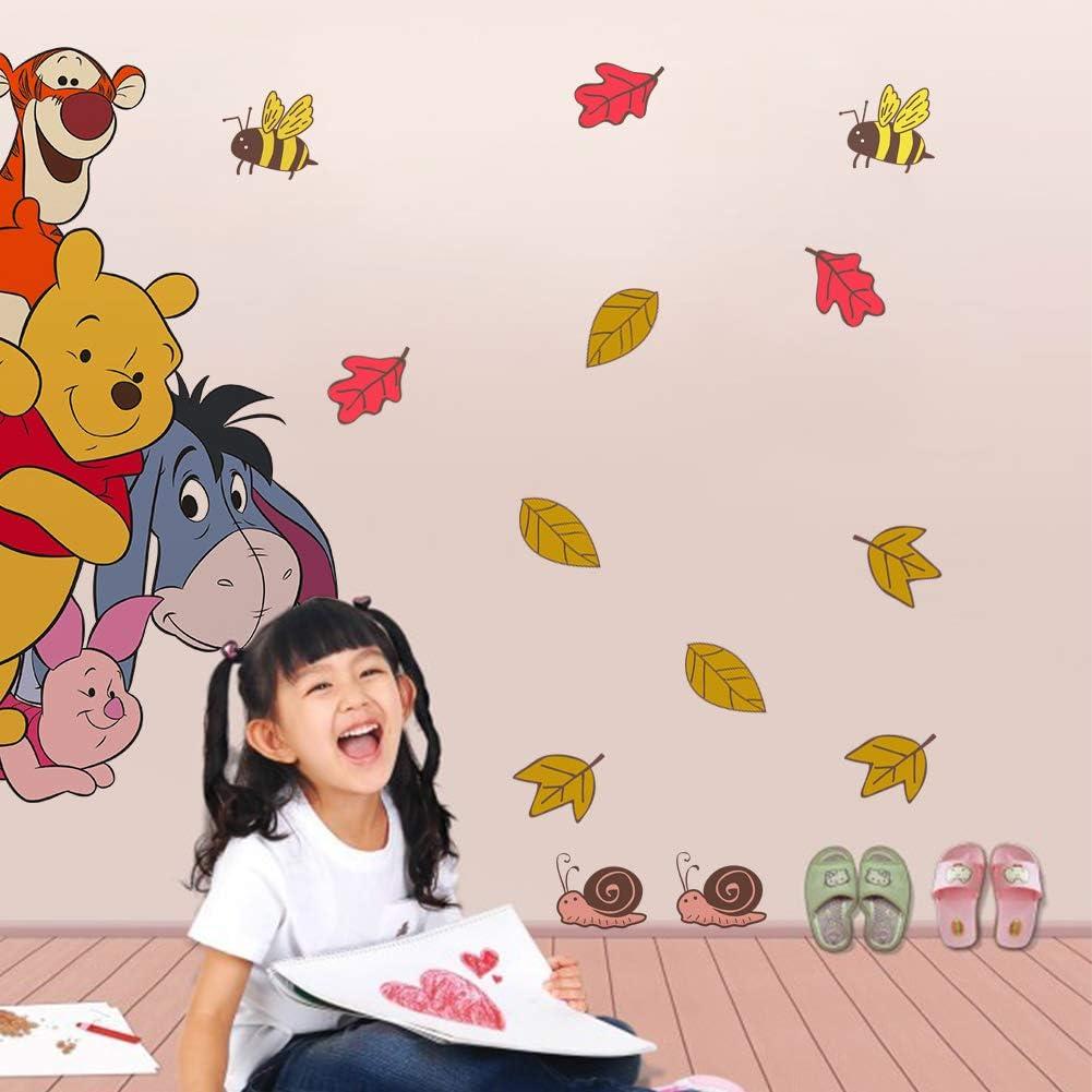 Winnie The Pooh Friends Pegatinas Winnie the Pooh Pegatinas de Pared de Winnie the Pooh Para Ni/ños Stickers Winnie the Pooh Dormitorio Pegatinas Decorativas Pared Ni/ña//Ni/ño