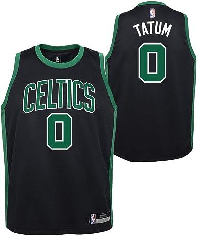 Outerstuff Jayson Tatum Boston Celtics #0 Youth Statement Swingman Black Jersey