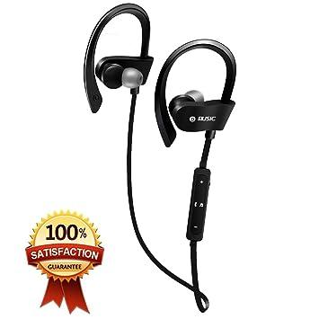 Bluetooth Auriculares inalámbricos Auriculares Deportivos V4.2 + ...