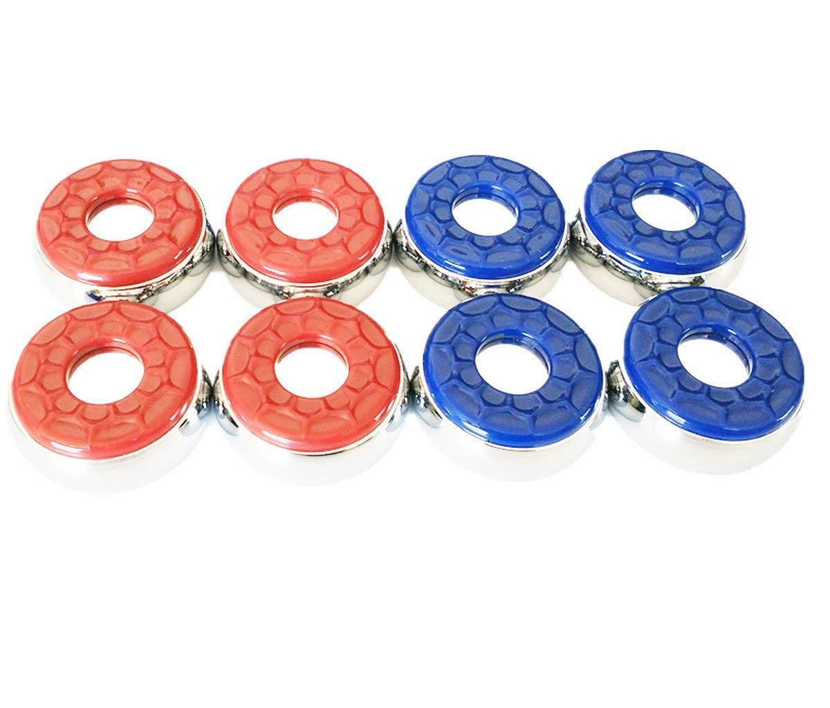 WETONG Shuffleboard Pucks, 2-5/16'' (58mm) Set of 8 by WETONG