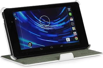 StilGut Ultraslim Case (V2), esclusiva custodia per Google Nexus 7 HD 2013 2a generazione, bianco vintage