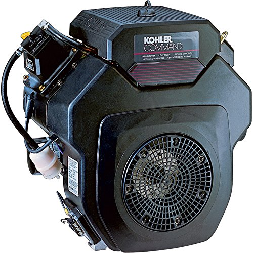 V-twin Shaft Vertical (Kohler Command V-Twin OHV Horizontal Engine with Electric Start - 674cc, 1 1/8in. x 4in. Shaft, Model# PA-CH620-3103)