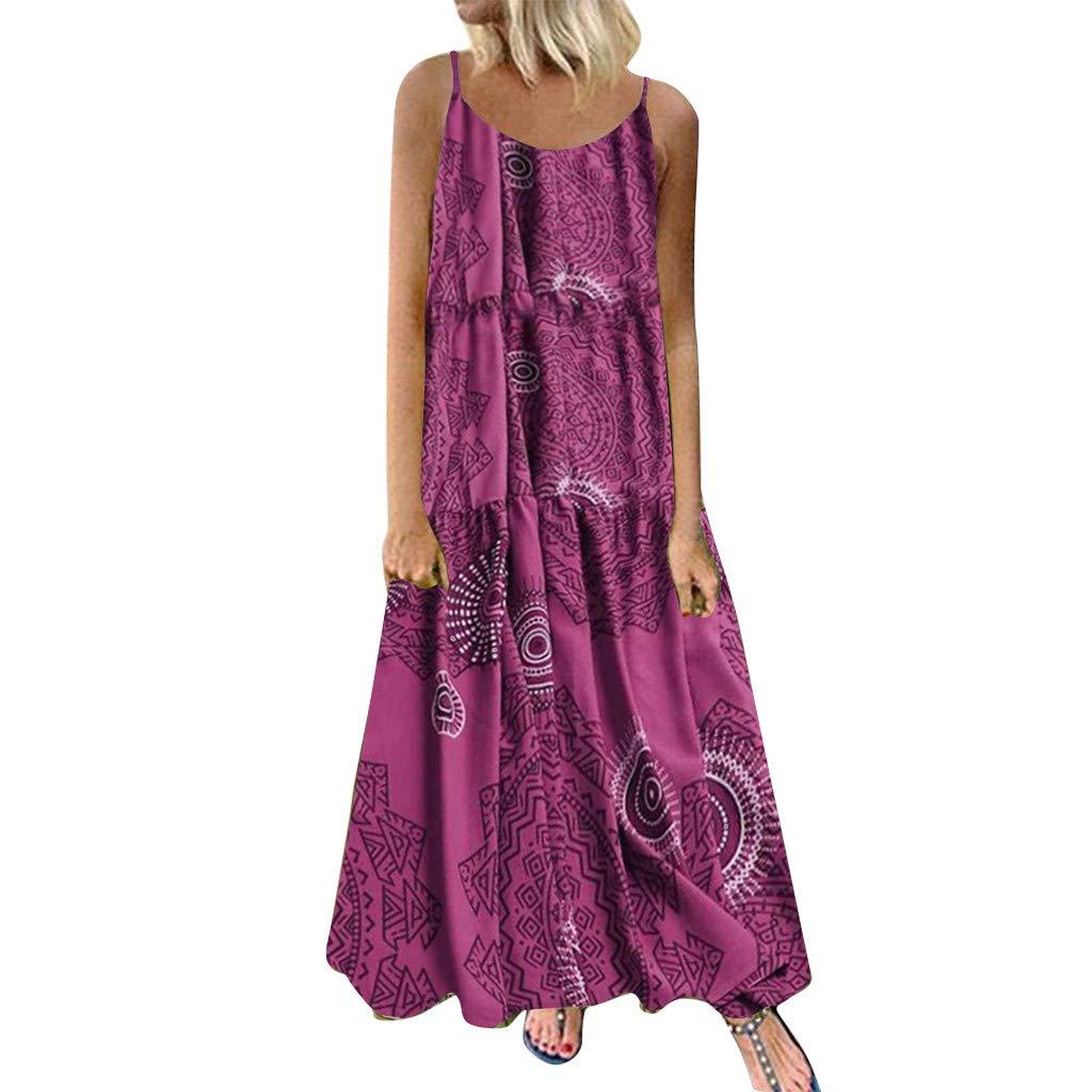 Londony ◈ Women's Swing Loose T-Shirt Fit Comfy Casual Flowy Cute Swing Tunic Dress Plain Dresses Casual Maxi Dress