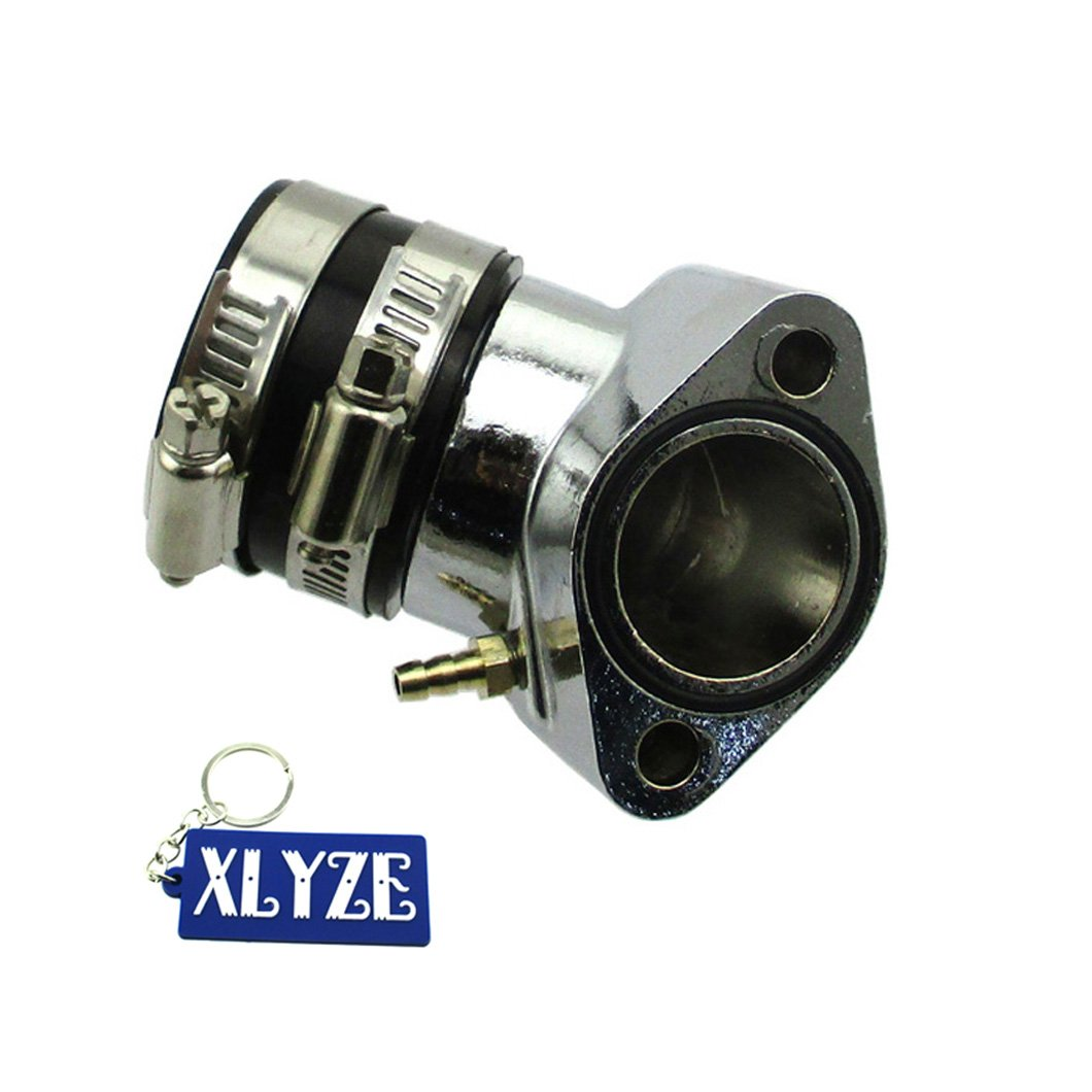 XLYZE 27mm Performance Racing Intake Manifold for GY6 125cc 150cc Chinese Moped Scooter Go Kart Buggy