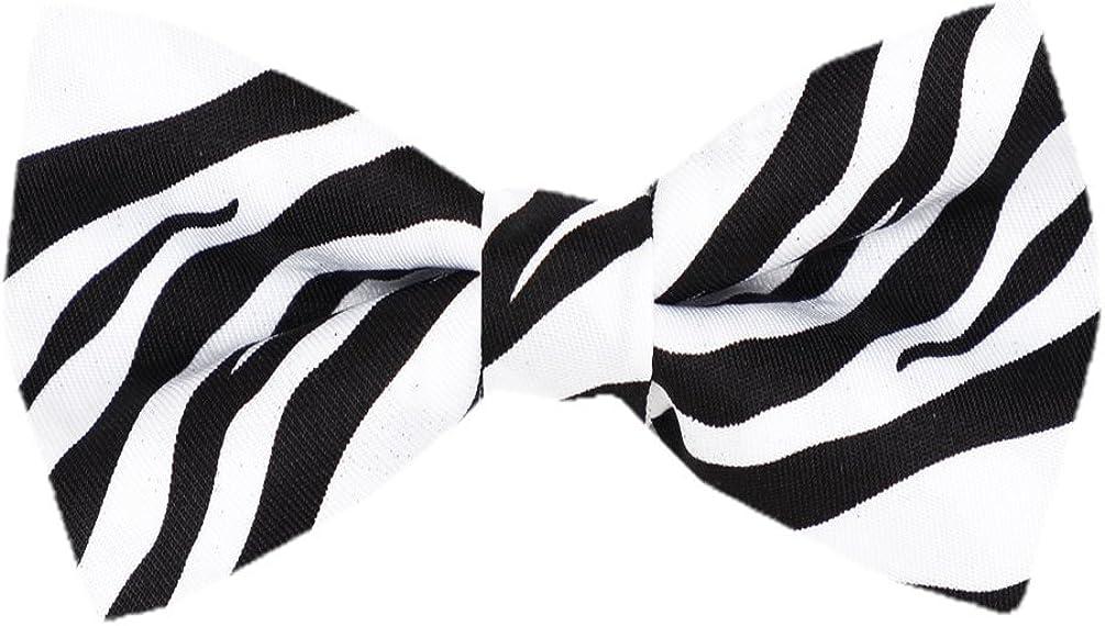 Mens Pre Tied Animal Print Bow Ties