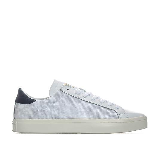 e24016713819 adidas Mens Originals Mens Court Vantage Trainers in White Blue - UK 4   Amazon.co.uk  Shoes   Bags