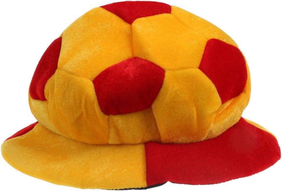 Hellery Sombrero De Fútbol De Fútbol De Inglaterra Gorro De Fiesta Traje De Gorro De Regalo - España, 62cm: Amazon.es: Juguetes y juegos
