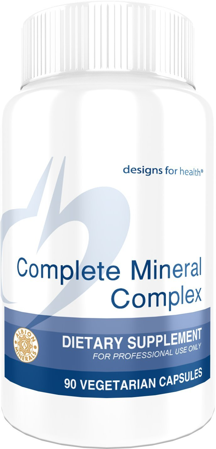 Designs for Health - Complete Mineral Complex - Chelated, Iron-Free, 90 Capsules