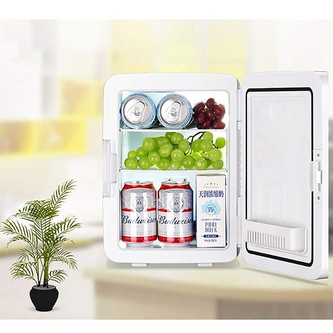 WYFDM Refrigerador para Autos, 10L Mini Refrigerador, Doble ...