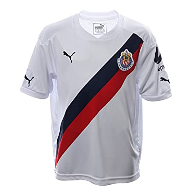 the best attitude 8cac0 36a6c Puma Youth Chivas Away Soccer Stadium Jersey 2016-17 - WHITE ...