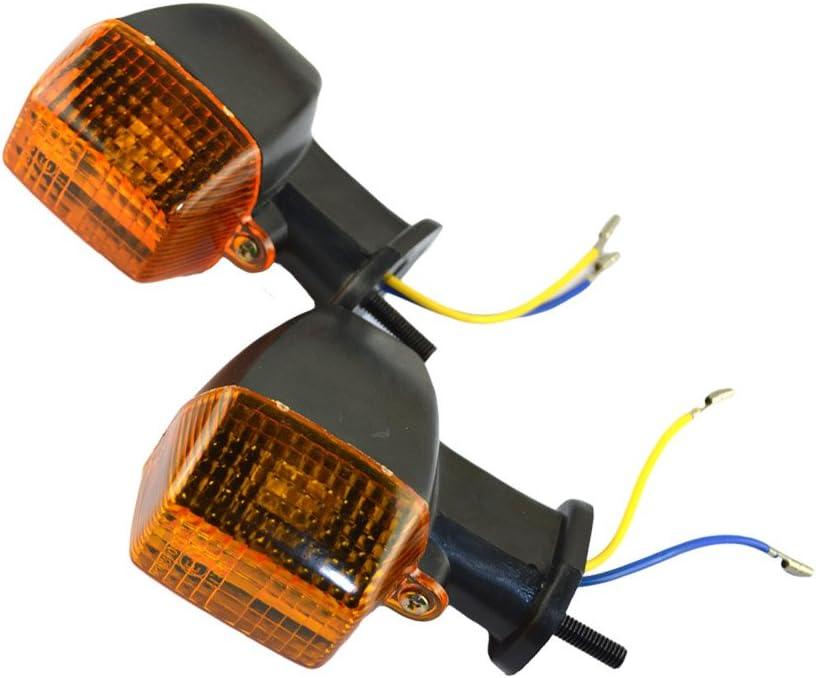 AHL Motorbike Turn Signal Light Indicators for Kawasaki KLE 250//400//500 ZXR250 ZXR400 ZXR750 ZRX1100 ZRX1200 R//S
